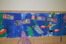 Ocean Theme / Ocean thematic fun for kindergarten math, reading, social studies, art, music, writing, and science.