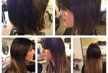 Hair Extensions 2 / Racoon hair extension, from a short bob to long layered style