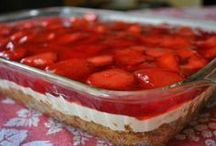 γλυκό ψυγείου φράουλα