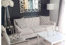 Living room white, bej
