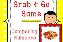K - Comparing Numbers / by Kelsey Franklin