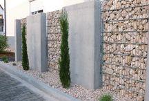 Muri di recinzioni