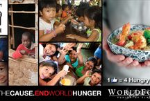 WORLDFOODS Supporting Stop Hunger Now / For the duration of the 2013 holiday season we are encouraging people to like the WORLDFOODS Facebook in support of Stop Hunger Now - a charity close to our hearts. For every new like the page receives, we will donate $1 to Stop Hunger Now. $1 buys 4 meals and we're aiming to give $5,000. / by WORLDFOODS
