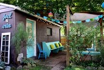 Outdoor Luvin / For the treehugger in me a lovely outdoor space is necessary because lots of time will be spent there :)