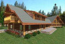 Roberts Design 4041 sq. ft. (375.4 sq m) / A spacious 4041 sq. ft. (375.4 sq m) design - Roberts A beautiful family home! #loghomedesign #floorplans #westernredcedar #postandbeam