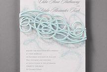 Laser Cut Wedding Invitation / Laser Cut Wedding Invitation
