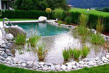 přírodní bazeny