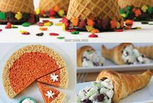 Thanksgiving Treats! / We all love thanksgiving and kids will really love this board of fun ideas! Ideas for your Thanksgiving feast, friend feast or school feast you're treats are guaranteed to be the highlight of the feast!