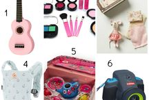 Gift Ideas for the Girls / by Abby Bigelow