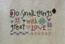 Lizzie Kate cross stitch