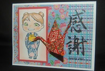 Friends of Yumi and Fumi  / If you've created something with a Yumi and Fumi Handmade stamp pin it here.  We'll be updating if we see your creation. Thanks for sharing!!