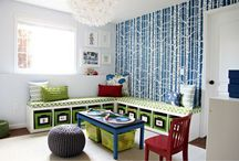 Decor: Playrooms / Playroom decor ideas. / by Swoodson Says
