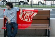 Clever Marketing / I really like clever. The Kit-Kat bench is awesome. Let me know if you see something really clever. / by Blogging Concentrated