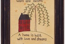 Keep Calm & Decorate. / So many ideas, so less space!