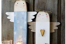 Weihnachten Holz DIY