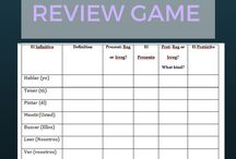 Games for learning and review