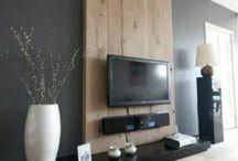houten muren