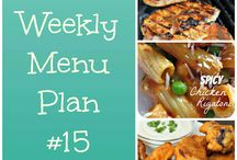 Weekly cooking ideas / by Holly Whitehead