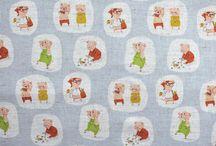 Japanese Fabrics / A collection of Japanese fabrics