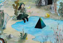 Rebecca Chaperon - painting
