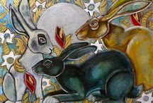 Hares in Art / by Deborah O'Hare