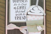 Coffee Cafe Stampin Up!