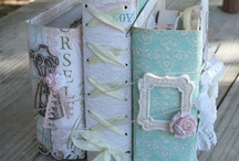 Reading romantic.. / Shabby chic vintage book cover