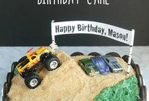 Boy birthday cakes ideas / Birthday cake and party ideas for boys.