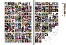 yearbook portrait pages
