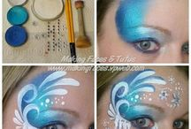 Paint art makeup