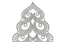 Paličkovanie / vzory na paličkovanie