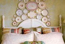 plate walls...