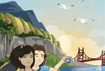 California for Kids / Join Sam and Sofia as they travel through the Sunshine State! / by Little Passports