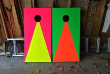 DayGlo Paint Projects / Things created using Day-Glo paint