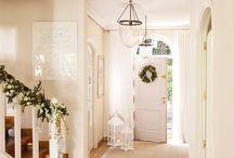 puerta de entrada y hall