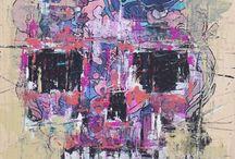 canvas / oeuvre Alexey Mednoy