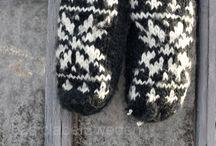 Strikk - votter/sokker