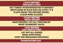 Thanksgiving Hacks / Use these Thanksgiving hacks to make this year's dinner easier, cheaper, and healthier!