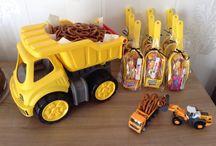 Kindergeburtstag Baustellenparty