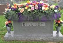 headstone decorations