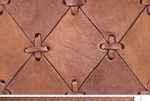 leather home decorations