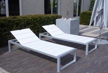Strak Design Loungebed