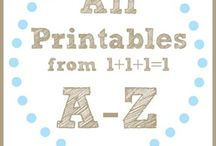 Homeschool :: Printables