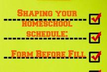 Homeschool: Planning