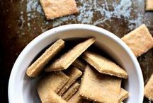 crackers, chips homemade
