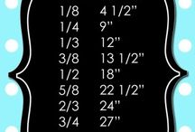 Fabric measurements