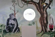 Murals for Girls / Girls know exactly what they want from a very early age. Designing a magical world for a girl will fire her imagination and give her somewhere special to grow, learn and dream.