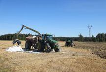 Maanparannus- ja kalkitusaineet / Viljelymaan heikko rakenne, eloperäisen aineksen vähyys ja happamuus voivat olla, etenkin kasvinviljelyalueilla, satoa rajoittavia kasvutekijöitä.