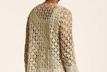 camisolas crochet