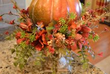 Podzimni kytice,dekorace